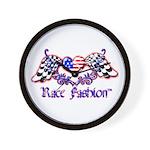 Race Fashion.com US Heart Wall Clock