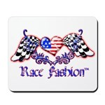 Race Fashion.com US Heart Mousepad