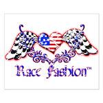 Race Fashion.com US Heart Small Poster