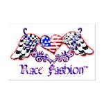 Race Fashion.com US Heart Mini Poster Print
