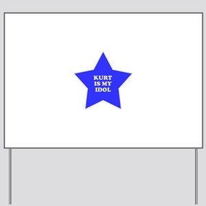 star-kurt Yard Sign