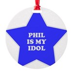 3-star-phil Round Ornament
