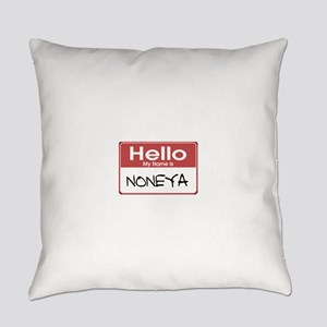 tag-noneya-10X10 Everyday Pillow