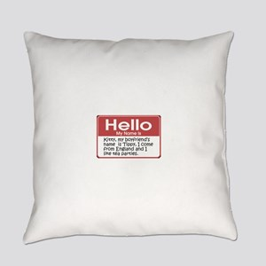 tag-kitty-10x10 Everyday Pillow