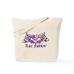 Race Fashion.com US Heart Tote Bag