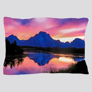 Grand Teton Range Pillow Case