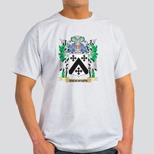 Anderson Coat of Arms - Family Crest T-Shirt
