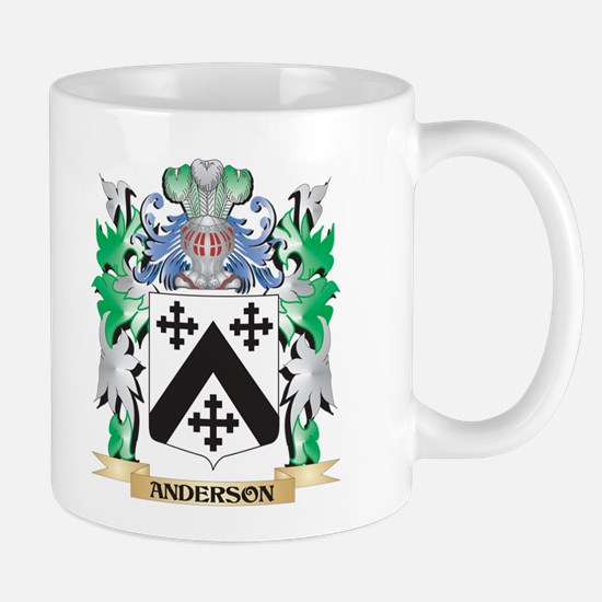 Anderson Coat of Arms - Family Crest Mugs