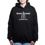 Trapezoid Goat Women's Hooded Sweatshirt