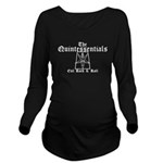 Trapezoid Goat Long Sleeve Maternity T-Shirt
