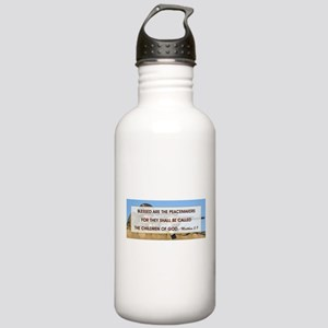 BLESSED ARE THE... Stainless Water Bottle 1.0L
