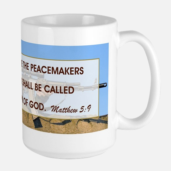 BLESSED ARE THE... Large Mug