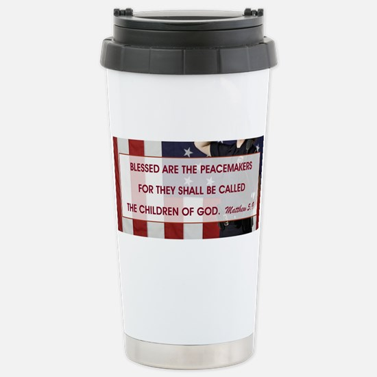 BLESSED ARE THE... Stainless Steel Travel Mug