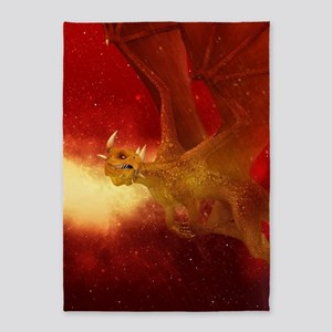 Golden Dragon 5'x7'Area Rug