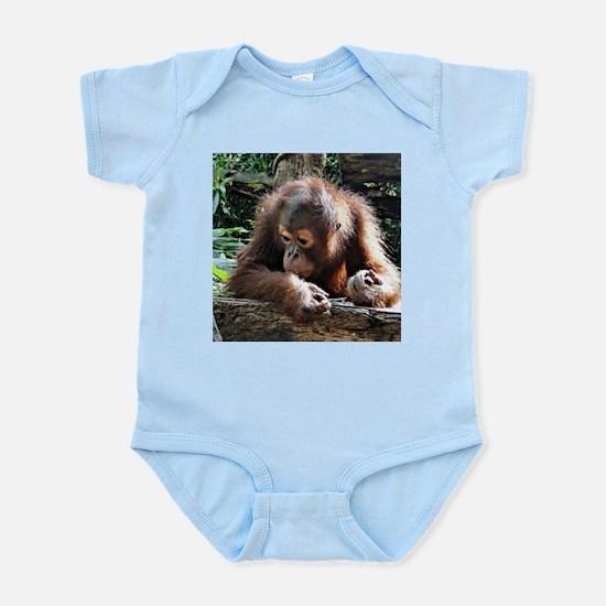 amazing Animal Orang Baby Body Suit
