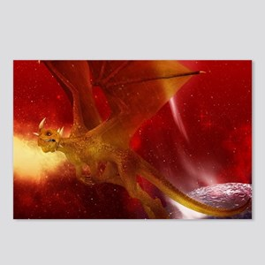 Golden Dragon Postcards (Package of 8)