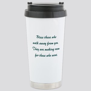 BLESS THOSE... Stainless Steel Travel Mug