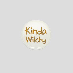 Kinda Witchy Mini Button