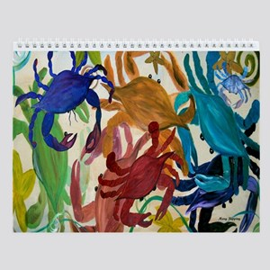 Sealife Art Wall Calendar 2013