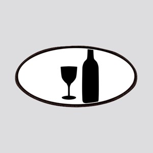 Wine Silhouette Patch