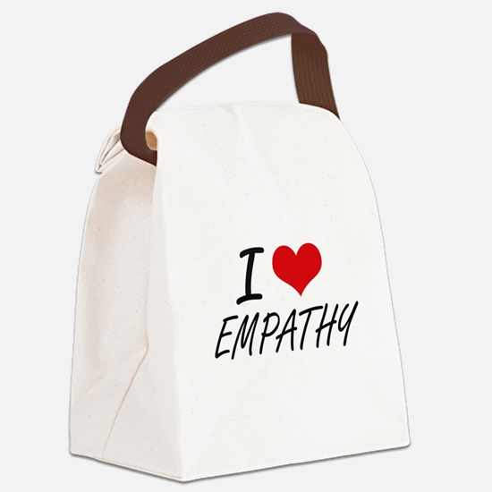 I love EMPATHY Canvas Lunch Bag