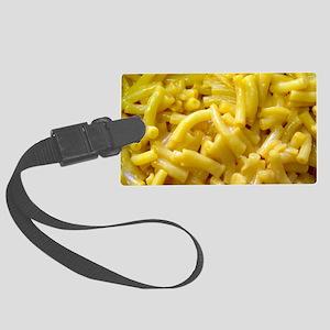 Macaroni And Cheese Large Luggage Tag