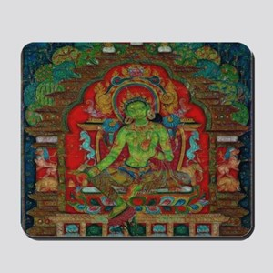 The Green Tara Mousepad