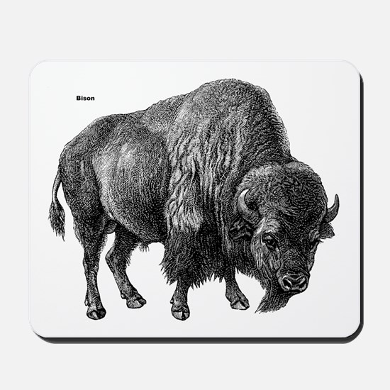 Bison Mousepad
