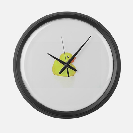 Rubber Duck Large Wall Clock