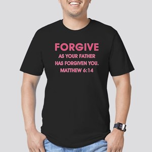 FORGIVE Men's Fitted T-Shirt (dark)