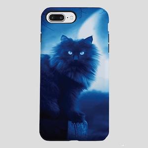 Black Cat In The Night iPhone 8/7 Plus Tough Case