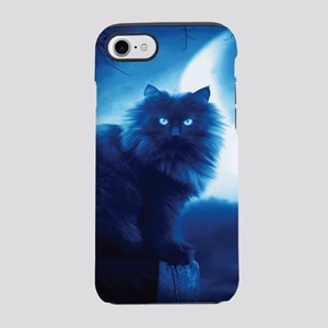 Black Cat In The Night iPhone 8/7 Tough Case