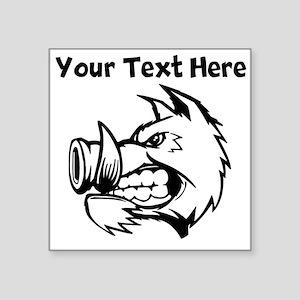 Razorback Boar Sticker
