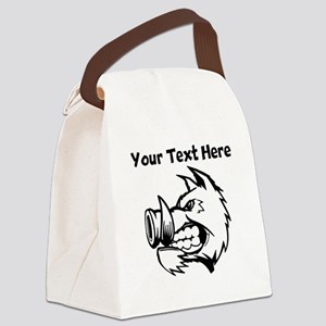 Razorback Boar Canvas Lunch Bag