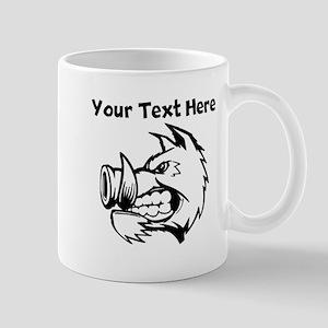 Razorback Boar Mugs