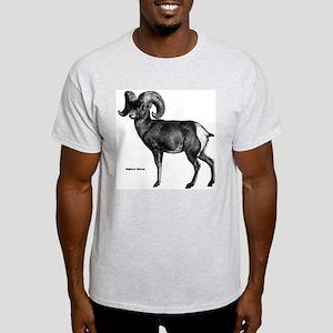 Bighorn Sheep Ash Grey T-Shirt