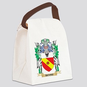 Antony Coat of Arms - Family Cres Canvas Lunch Bag