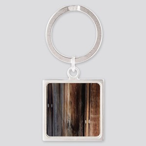 western country barn board Square Keychain