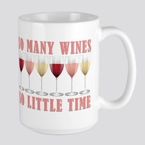 SO MANY WINES... Large Mug