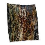 Marble Home Decor Burlap Throw Pillow