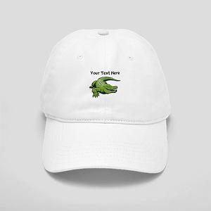 Green Alligator Baseball Cap