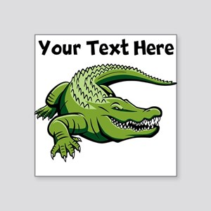 Green Alligator Sticker