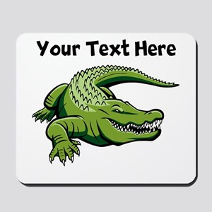 Green Alligator Mousepad
