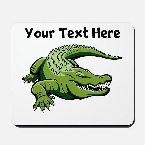 Green Alligator Mousepad