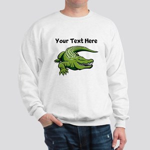 Green Alligator Sweatshirt