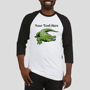 Green Alligator Baseball Jersey