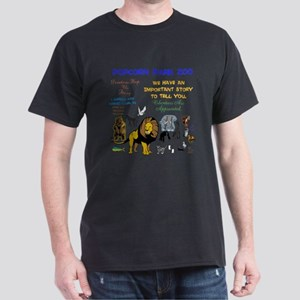 POPCORN PARKS ZOO STORY. TWINKLING ST Dark T-Shirt
