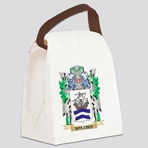 Applebee Coat of Arms - Family Cr Canvas Lunch Bag
