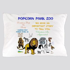 Popcorn Parks Zoo Story. Twinkling Sta Pillow Case