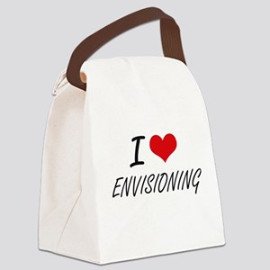 I love ENVISIONING Canvas Lunch Bag